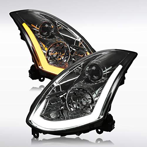 03 g35 headlights coupe - 3