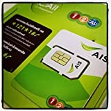 ChooseTop AIS Non-Stop Roaming Unlimited SIM 15Day/3GB Asia,America,Australia,Europe,Africa(Available in the U.S.)