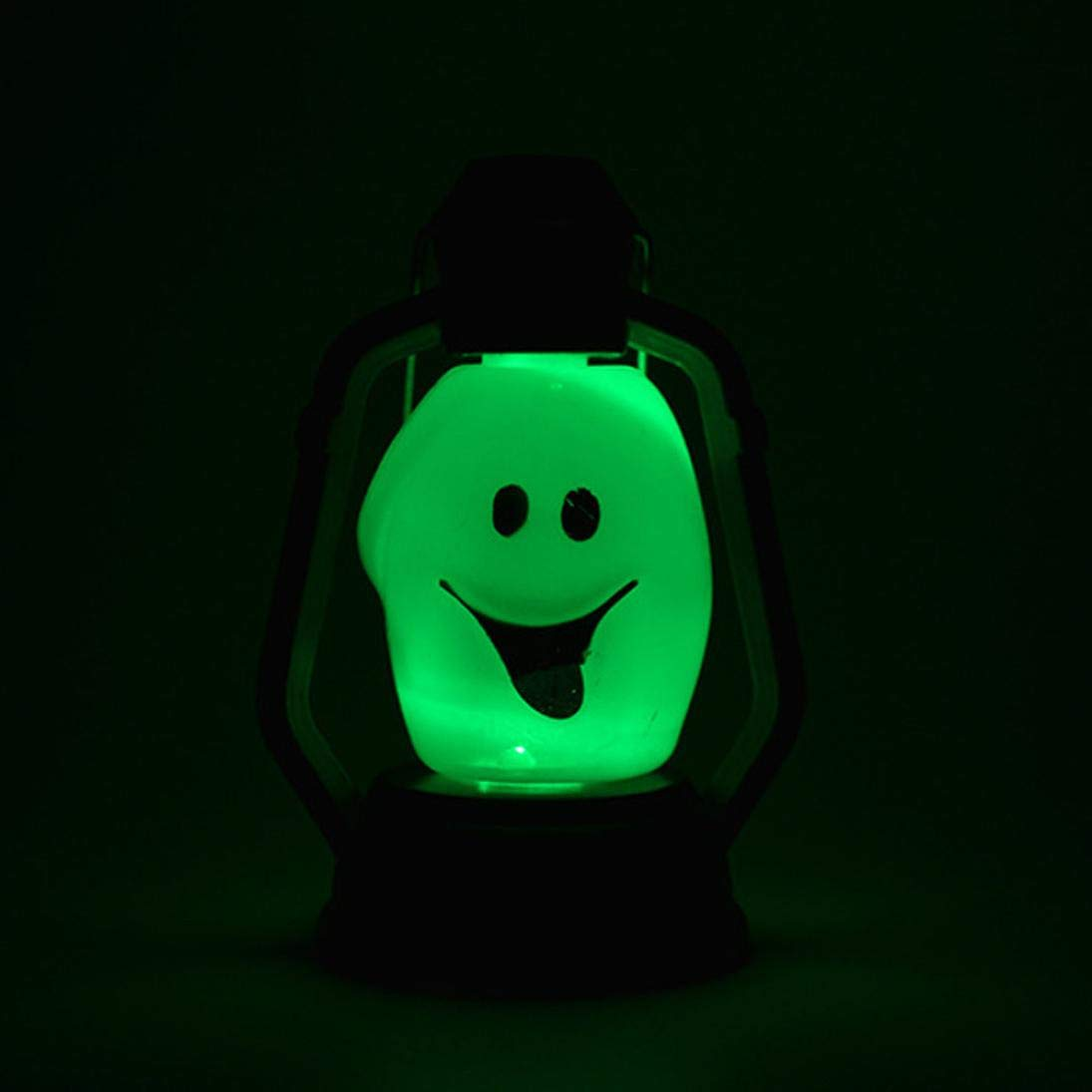 Icocol Boutique Fashion Halloween Night Light Indoor Party Decor Toy Kids Gift (A)