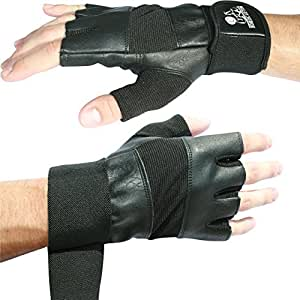 """Weight Lifting Gloves With 12"""" Wrist Support For Gym Workout, Weightlifting, Fitness, Powerlifting & Cross Training Sports - The Best For Men & Women by Nordic Lifting -XS, 1 Year Warranty"""