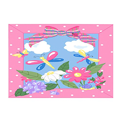 (Jade Reynold Fun Rugs Spring Time Home Decorative Accent Area Rug 39