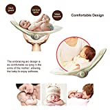 VASTFAFA Soothing Portable Swing,Comfort Electric Baby Rocking Chair with Intelligent Music Vibration Box That Can Be Used from The Beginning of The Newborn