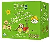 Ella's Kitchen 1+ Year Organic Multigrain Wheels, Cheddar + Leeks, 6 Count