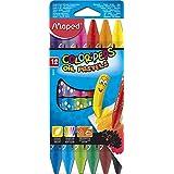 Giz Pastel, Maped, Color Peps Oil Pastels, 864010, 12 Cores