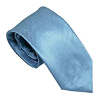 100% Silk Hand Made Woven Tie and Matching Pocket Square Solid Colors