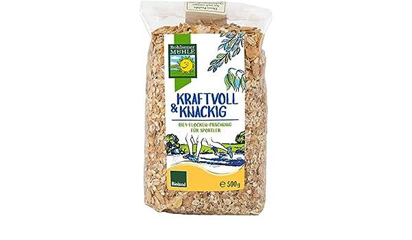 Copos 4 cereales Bio 500 g Bohsener mühle: Amazon.es ...