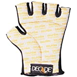 Decade 49233 Anti-Vibration Spandex Half-Finger Left Hand Glove Liner with Gfom, Large-XXLarge
