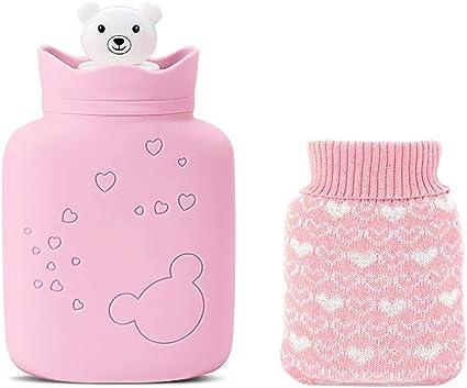 Amazon.com: Piixy Bolsa de agua caliente de silicona ...