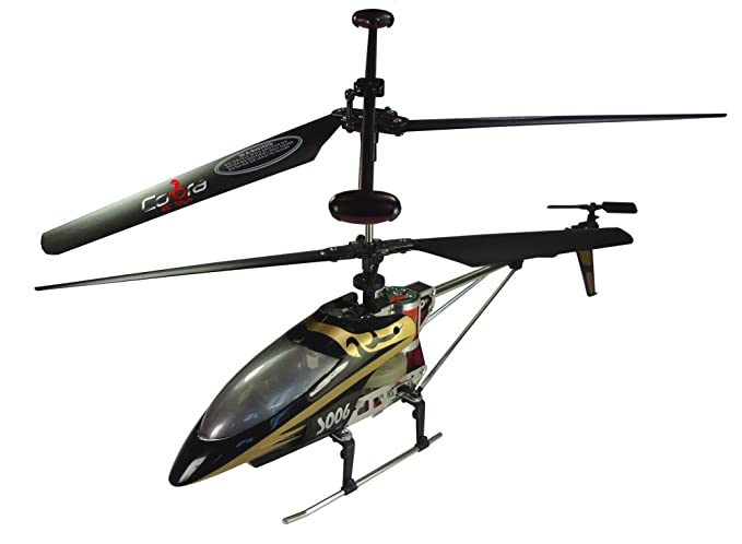 Amazon com: Cobra R/C 3 Channel Big Shark Helicopter: Toys