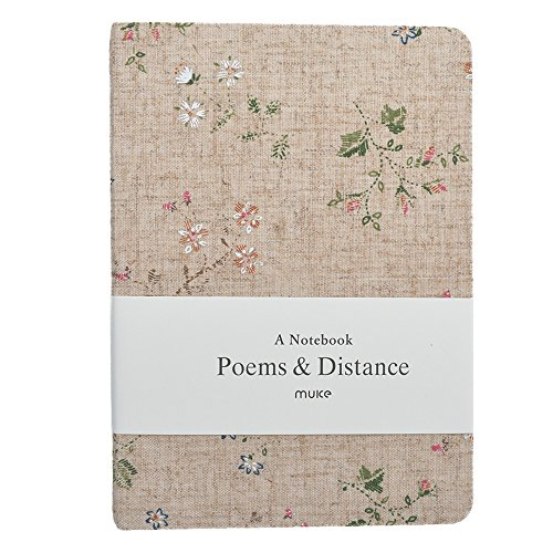 (Cloth Linen Journal Notebook Hard Cover Diary with Blank And Lined Paper 128 Sheets/256 Pages)