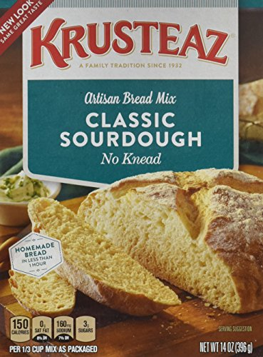 (Krusteaz Mix Bread Sourdough 14 Ounce (2 Pack))
