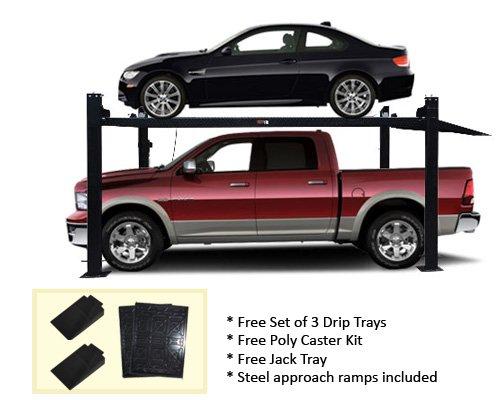 Auto Lift Car-Park-8-Plus 4 Post Storage Parking Car Lift Extra Tall 8,000 lb