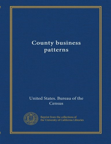 Download County business patterns (1990:20) pdf epub