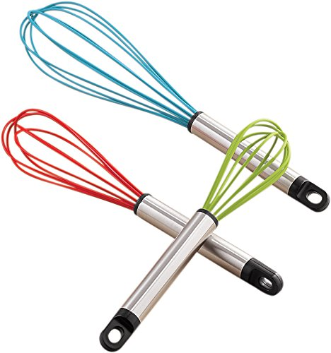 Silicone Whisk Set Miles Kimball