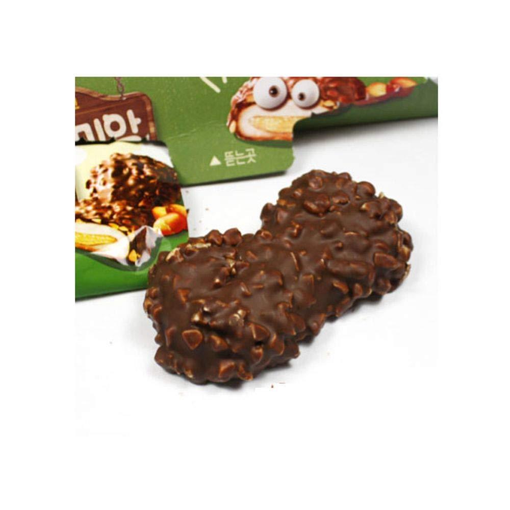 Samjin Choco & Peanut Pie 216g x 12 꼬미앙
