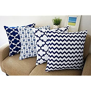 Amazon Pile of Pillows Insert Cushion 18 by 18 Inch 4 Pack