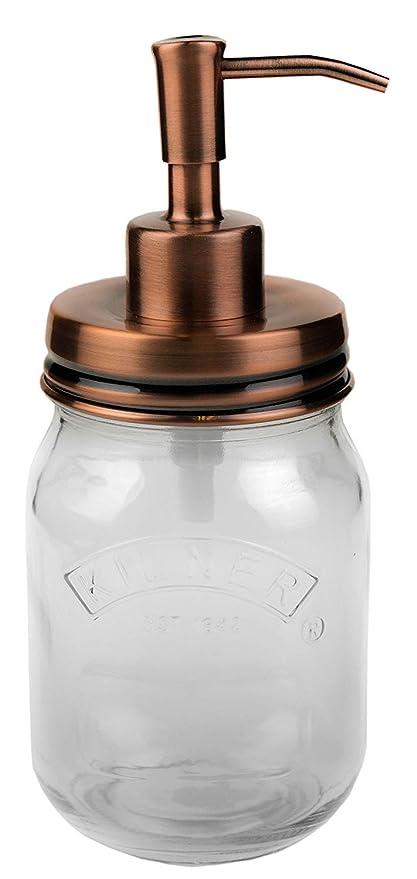 Cobre/Rosa   dispensador de jabón   Vintage   100% resistente a la corrosión