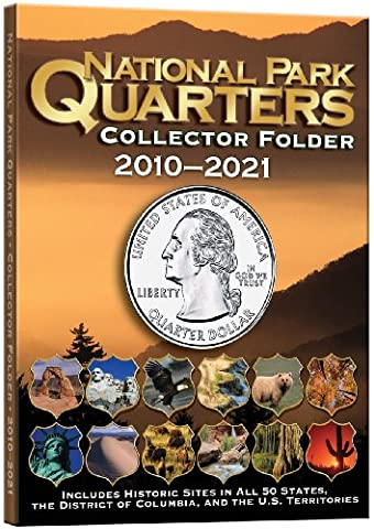 National Park Coin Single Mint Folder 2010-2021 - State Quarter Collection