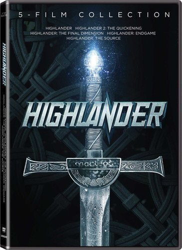 Highlander 5-Movie Collection [DVD] (Last Chapter Of The Fault In Our Stars)