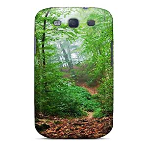 For WmcoR8291ZStPl Forest Undergrowth Protective Case Cover Skin/galaxy S3 Case Cover