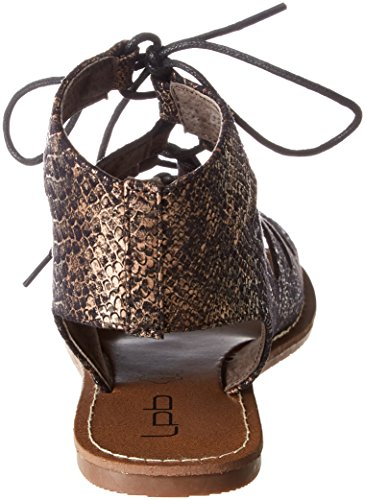 Bombes Marron Femme P'tites S Les bronze Spartiates Prunelle fq5RFHw