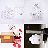 20 LED Lamps Baby Kids Cute Cloud with Face Shape