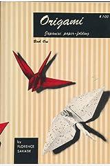 Origami, Book 1: Japanese Paper Folding (Vol 1) Paperback