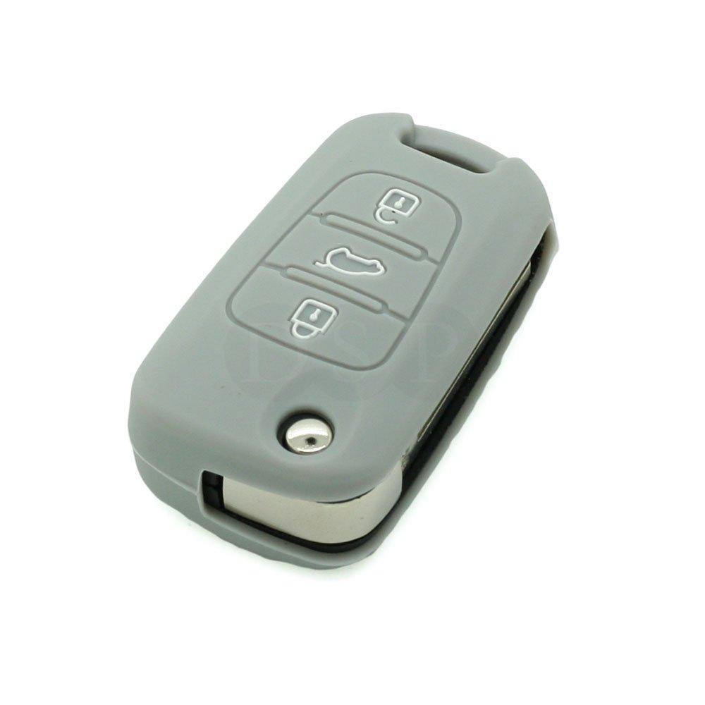 color negro Funda de silicona Fassport CV3101 para llave de Hyundai 3