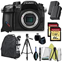 Panasonic LUMIX DMC-GH4 16.05MP Digital Single Lens Mirrorless Camera with 4K Cinematic Video (Body) + Pixi-Dual Battery-Charger Bundle Overview Review Image