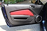 Ford Mustang 2010-14 door insert covers by RedlineGoods