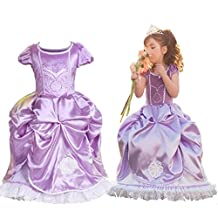 Eyekepper Sofia Princess Dress Christmas Birthday Party Costume 3-7 Years