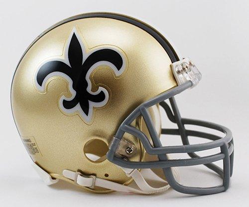 New Orleans Saints 1967-75 Throwback NFL Riddell Replica Mini (New Orleans Saints Collectible Replica)