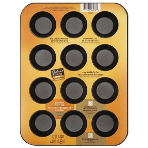 Baker's Secret 12-Cup Muffin Pan, Mini