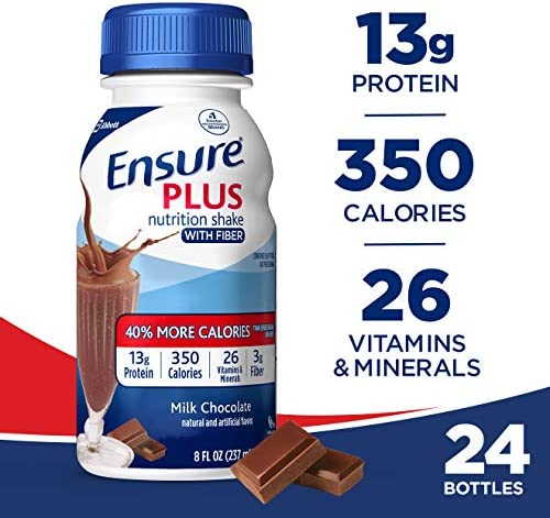 Ensure Nutrition Shake Fiber Chocolate product image