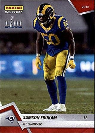 cheap for discount 511e3 8ba11 Amazon.com: 2018 Panini Instant NFL Football #401 Samson ...
