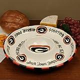12'' University of Georgia Ceramic Circle Chip & Dip