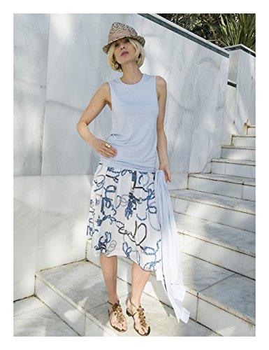 Boch En Sky Femme Jersey Von Brigitte Siry Couleur Débardeur q4855Xwxv