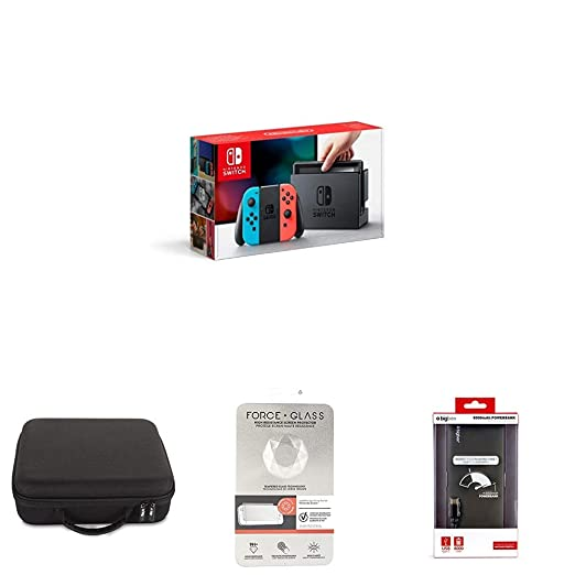 Nintendo Switch - Consola (Azul y Rojo Neón) + BigBen Funda ...