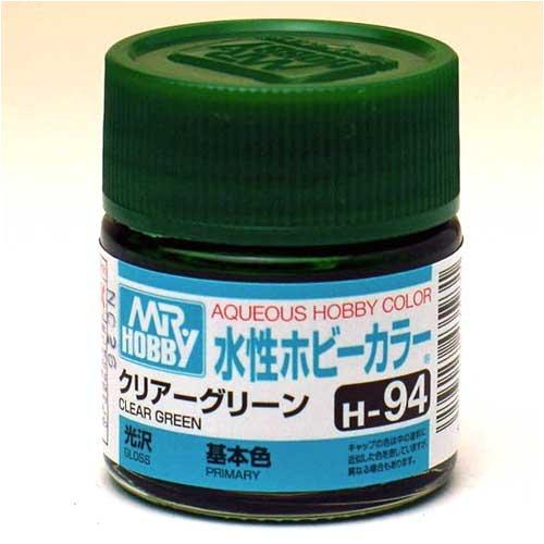 水性ホビーカラー H94 クリアーグリーン