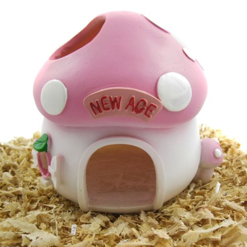 (Alfie Pet - Mushroom Hideout Hut for Small Animals Like Dwarf Hamster and Mouse)
