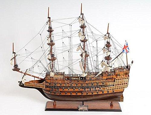 Old Modern Handicrafts Sovereign of The Seas Collectible, Medium (Linen Bookends)