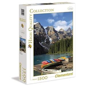 Clementoni 31992 Puzzle Collezione Alta Qualit Moraine Lake 1500 Pezzi