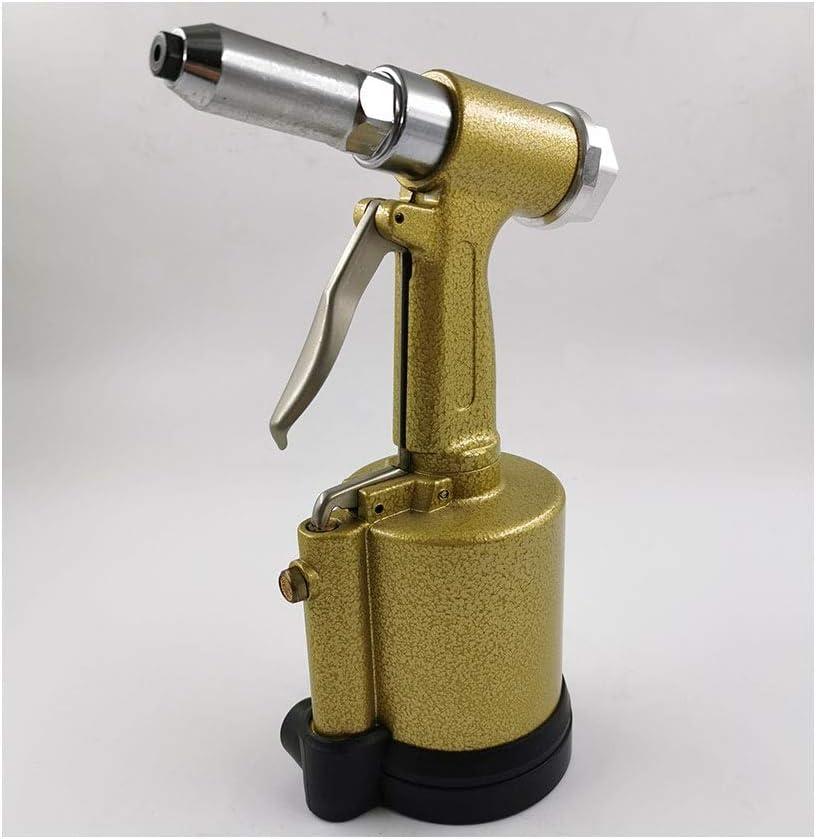 Color : Yellow Pneumatic Riveting Vertical Labor-saving Industrial Grade Hand Tool