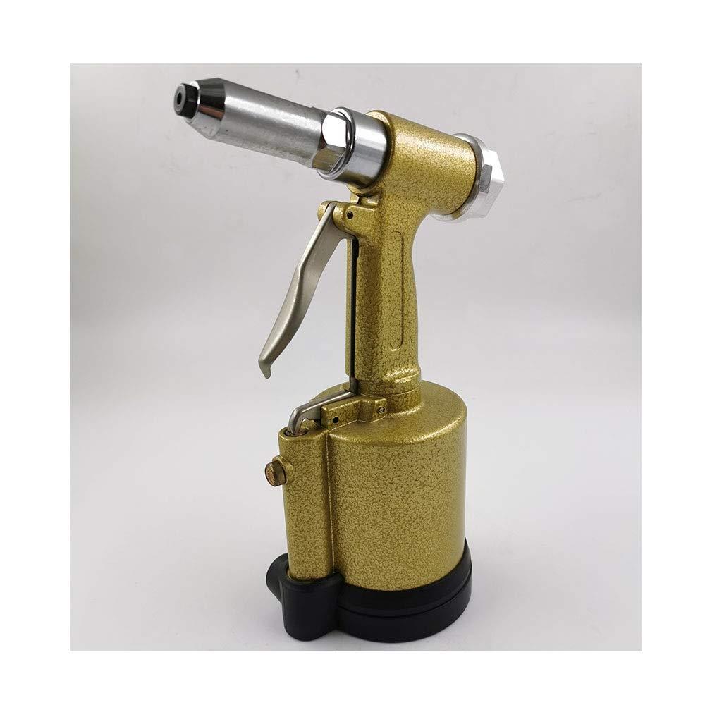 Pneumatic Riveting Gun Vertical, Labor-saving Industrial Grade Hand Tool (Color : Yellow) by XIAOL-Pneumatic Tool