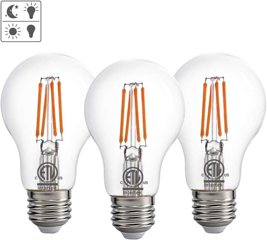 Dusk to Dawn Outdoor LED Lights Bulb ETL Listed Photocell Li