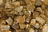 Fantasia Materials: 1 lb Golden Color Citrine Rough - Raw Natural Crystals for Cabbing, Cutting, Lapidary, Tumbling, Polishing, Wire Wrapping, Wicca and Reiki Crystal HealingWholesale Lot
