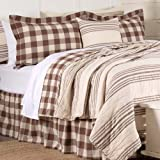 Oversized King Quilts 120x120 Cotton Piper Classics Dublin Quilt, Luxury King Size 105
