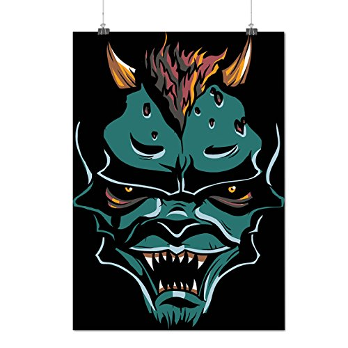 Scary Monster Demon Devil Lair Matte/Glossy Poster A2 (17x24 inches) | Wellcoda (Scully Costume)
