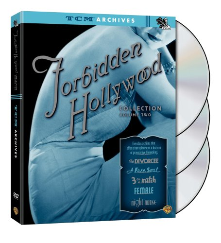 TCM Archives - Forbidden Hollywood Collection, Vol. 2 (The Divorcee / A Free Soul / Night Nurse / Three on a Match / Female) -