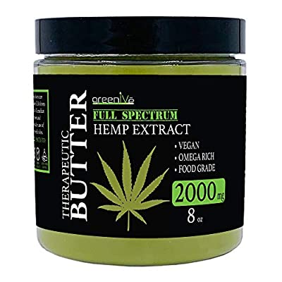 GreenIVe - Hemp Butter - All Natural - Hemp Seed Butter - Exclusively on Amazon from Greenive